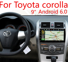 Android 6.01 Car DVD For Toyota Corolla 2007 2008 2009 2010 2011 With WiFi Radio Toucn Screen GPS Navigation BT(China)