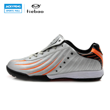 TIEBAO Professional Outdoor Soccer Shoes Men Women Athletic Training Shoes TF Turf Sole Football Boots Sneakers botas de futbol(China)