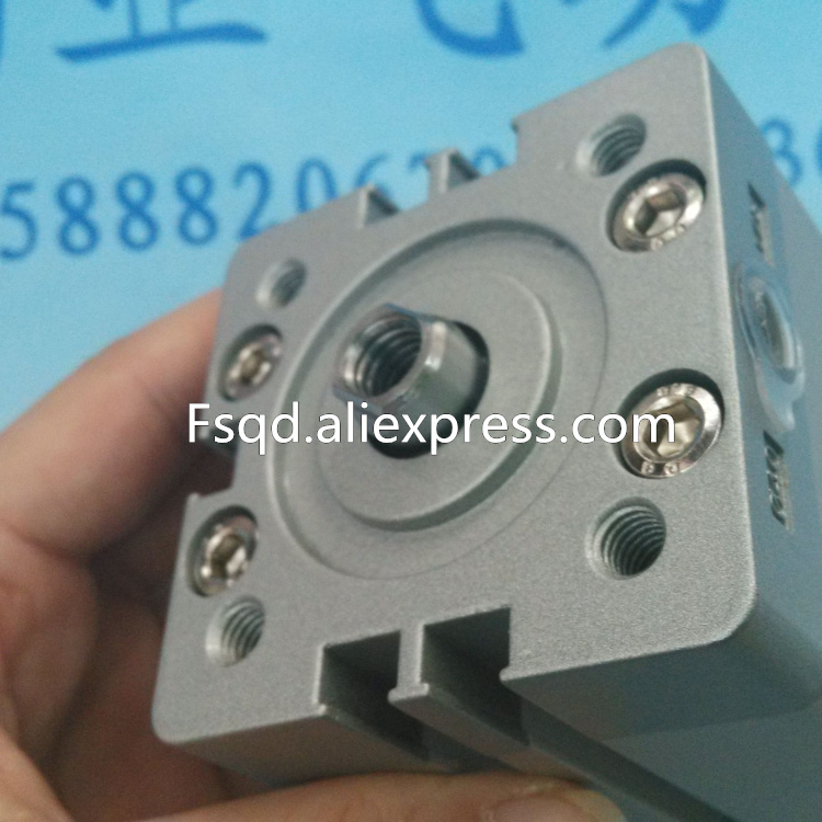 ADN-40-5-I-P-A ADN-40-10-I-P-A ADN-40-15-I-P-A  Compact cylinders Pneumatic components  , ADN series<br>
