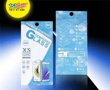 500 Pcs/Lot Universal Cartoon Retail Paper Packaging Box For iphone 7 7 plus Tempered Glass Screen Protector Packaging Box(China)