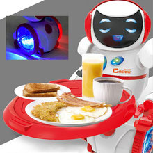 RC Robot Remote Control Electronic Toy Robots Walk Musical Children Boy Gift