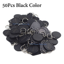 Buy Weatherproof RFID 125KHz EM4100 EM4102 Proximity ID Token Tag Key Keyfobs Chain Black 50pcs EM Proximity Access control tag for $18.99 in AliExpress store