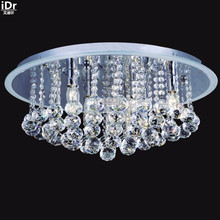 Gold Ceiling Lights polished chrome crystal lamp bedroom lamp hotel lamp corridor lights 56cm W x 23cm H