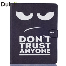 Dulcii Stand Cover for iPad2 / ipad3 / iPad4 Pattern Printing PU Leather Wallet Cover(China)