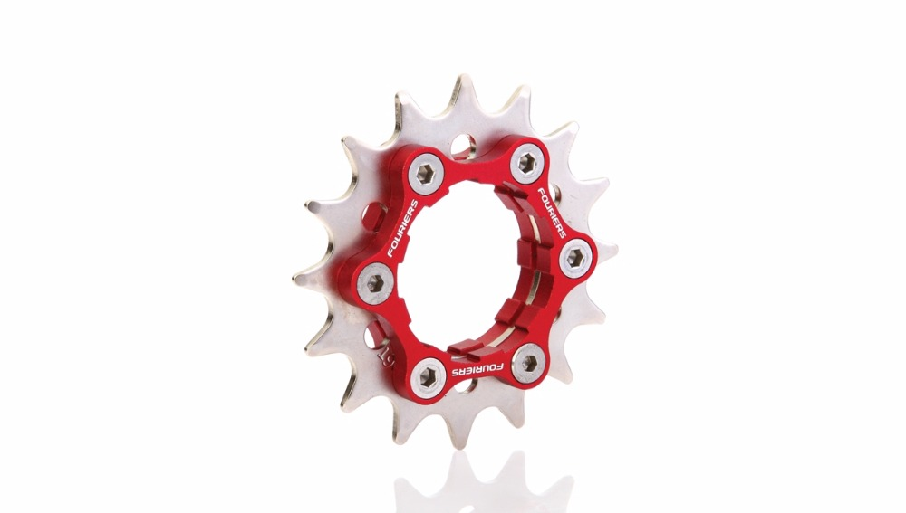 FOURIERS CR-S002 16t ~ 23t bike Single speed bicycle hub cogs Use for disc HUB 6 hole and cassette HUB<br><br>Aliexpress