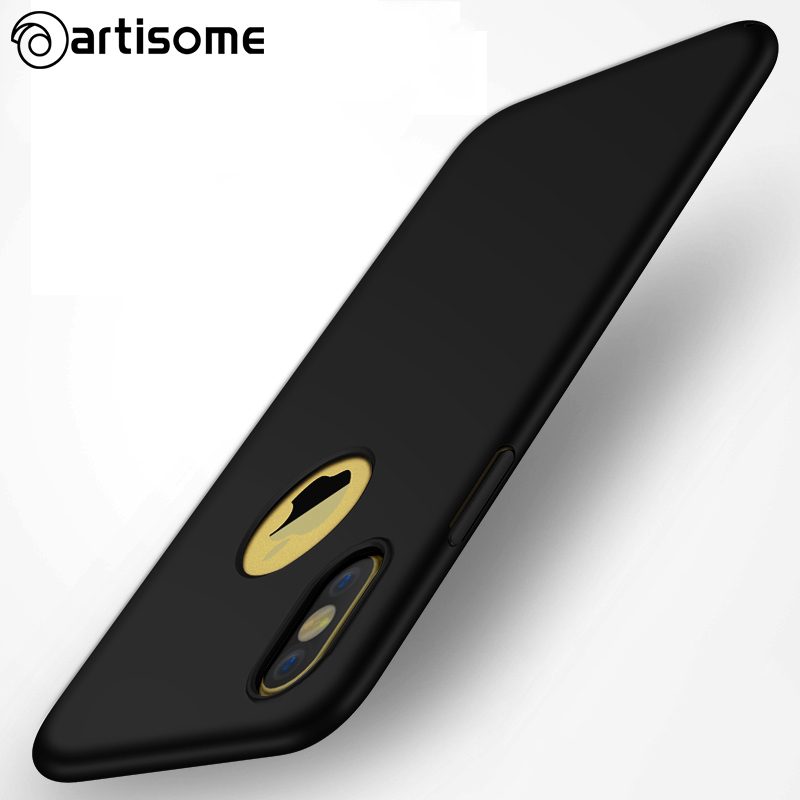ARTISOME Full Cover Case iPhone 8 Fashion Plastic Phone Case Slim PC Hard Back Cover iphone 8 Case Coque Protection Capa