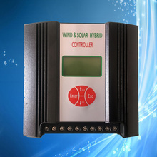 300W 12V Wind Solar Hybrid Controller for Street Light System, Automatical Brake Protection, LCD Display