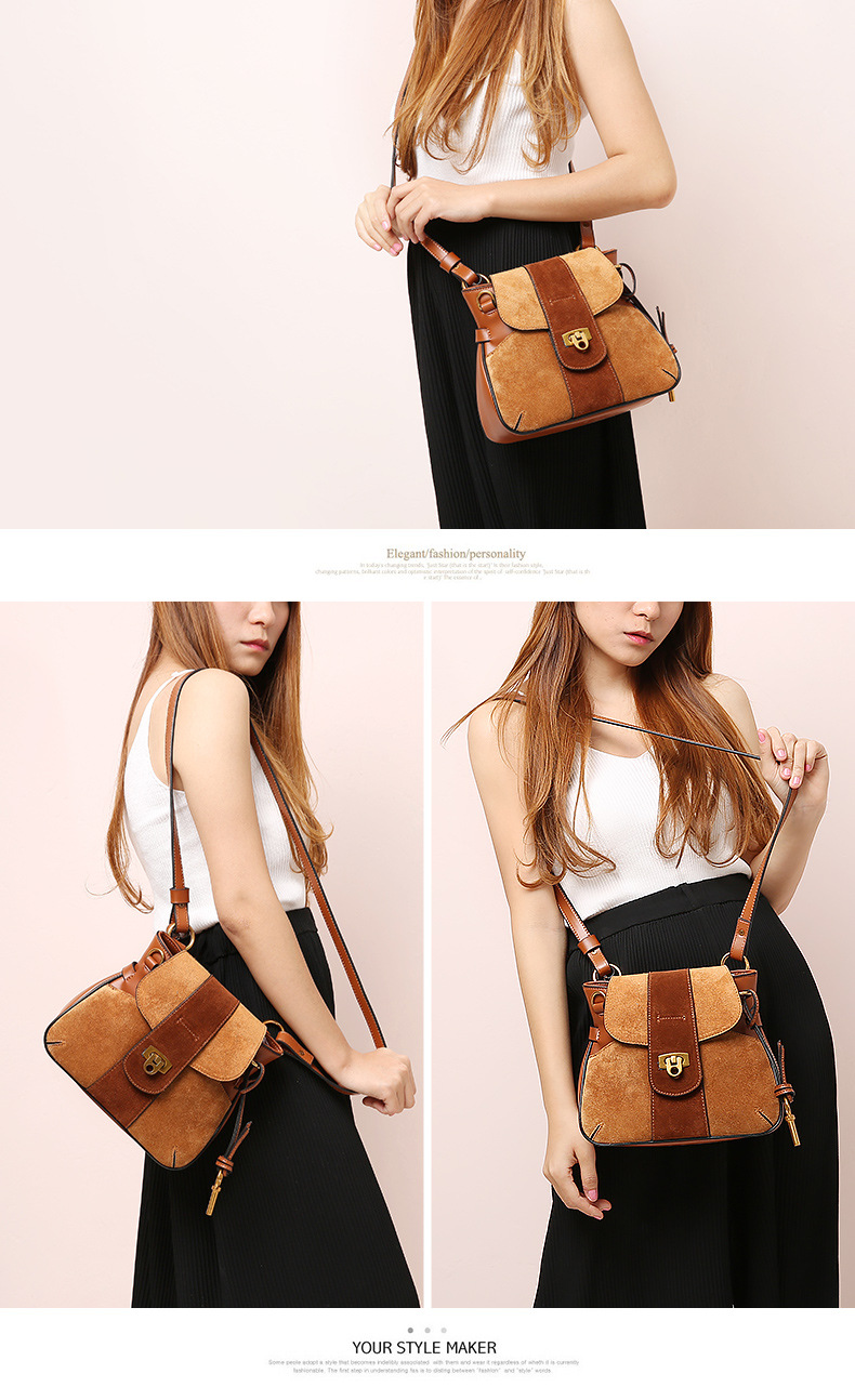 Luxury Handbag Women Designer Genuine Leather Bag Women Leather Handbags Channels Shoulder Messenger Bag handbag bolsos muje (2)