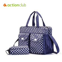 Actionclub Diaper Bag Nappy Bag For Mummy Maternity Stroller Bolsa Baby Stuff Carriage Waterproof Baby Changing Bag For Mom