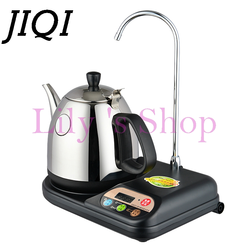Intelligent automatic electric water heating kettle Self-priming pumping Mini Stainless Steel Teapot Water Dispenser boiler 1L<br>