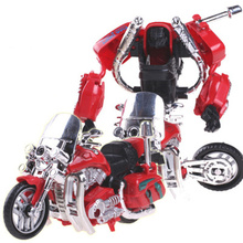 5 in 1 Big Size  Toys Engineering Truck Motorcycle Forklifts Model Deformation Robot Car Action toy Anime Toys Boys kid Gift