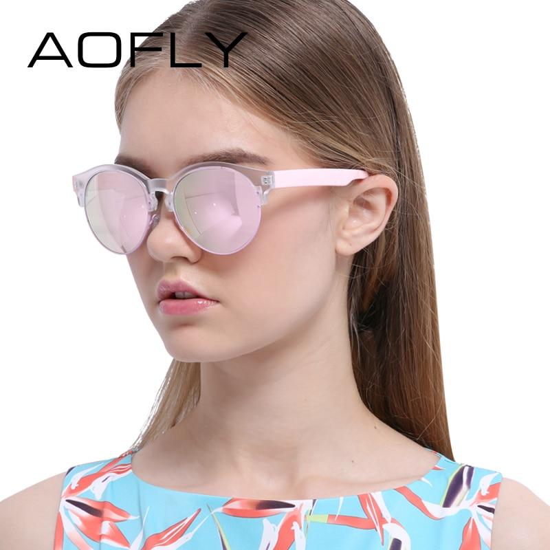 AOFLY Sunglasses Fashion Cat Eye Sun glasses Retro Eyeglasses Women Brand Designer Mirror Round Shades UV400 Oculos Gafas De Sol<br><br>Aliexpress