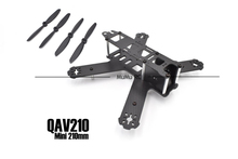 Mini 210mm  Pure carbon fiber Frame kit 3mm arms for 210 QAV210  LS210 Quadcopter DIY Cross Racing Drones