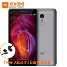 "Global Version Xiaomi Redmi Note 4 Mobile Phone Snapdragon 625 Octa Core CPU  3GB RAM 32GB ROM 5.5"" 1080p display 13MP CE FCC"