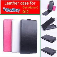 2015 Newest  Good Quality   Brand Wallet Leather Case for Blackberry Q10 Cover with Stand Function and ID Card Holder 3 Colors