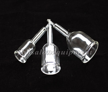 Free Shipping Vacuum Attachment Cupping Glass Cup For The Vacuum Breast Massage Instrument