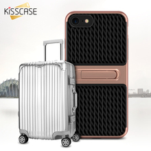 Buy KISSCASE Stand Phone Case iPhone 7 7 Plus Cases Carbon Fiber Soft PC TPU Phone Cover iPhone 8 8 Plus Coque Capa Capinhas for $2.69 in AliExpress store