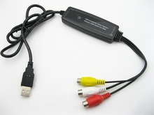 1 Channel USB 2.0 Video/Audio capture Adapter for MAC Drive-free Version camcorder/VCR/digital camera/any standard video