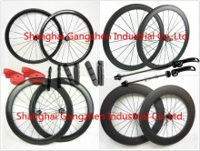 Full Carbon Wheels Clincher 38/50/60/88mm Carbon Rims Road Bike Wheelset Glossy Matte Chinese Carbon Cycling Wheels