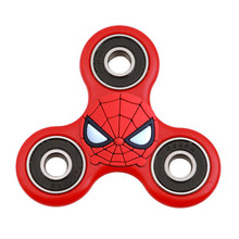 Spiderman Hand Spinner EDC Finger Toy Anti-Stress Toy Focus Reduce Stress Gadget Hand Spinner EDC Tri Spinner For Kid Anti