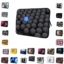 Wholesale Retail Neoprene 7 10 12 13 14 15 17 inch Laptop Sleeve Bag Portable Cover Cases For Macbook Dell Acer Aspire One 11 13