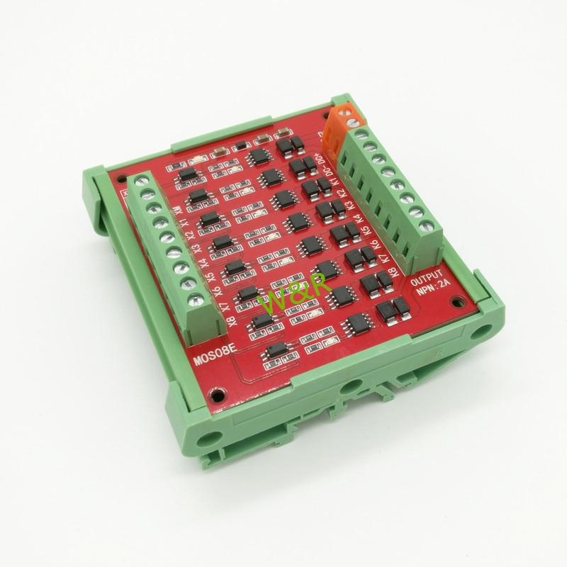 8 Solid State Relay Module /9V/12V/24V Output / Control Solenoid Valve / Small Motor LED Lights<br>