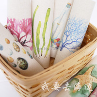 Hand dyed cotton linen fabric Printed Quilt Fabric For DIY  Home Textile Decor 10 Assorted  decorative painting  20X20cm