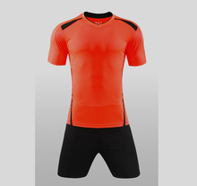 AXFAM brand 2017 Football Jerseys sports clothing Set Men DIY Adult Size Short Sleeve Breathable Blank Uniforms soccer jerseys(China)