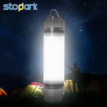 Henman Camping Light Rechargeable Led Outdoor Lamp USB Camping Lanterns Waterproof Portable Led Light Tent Lantern SOS IP68(China)