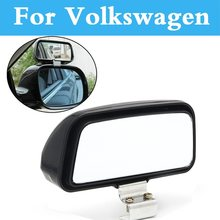 Car Blind Spot Mirror Wide Angle Rear Side View Adjustable For Volkswagen Fox Golf GTI Beetle Bora Eos Golf Plus Golf R