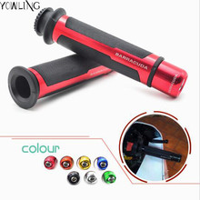 "motorcycle handlebar grips & handle bar ends 7/8""22mm For yamaha YZF R125 R15 R25 r 125 15 25 mt-07 mt-09 mt 07 09 TMAX530 TMAX"