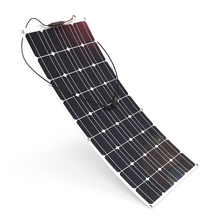 solar panel 12v 100w; flexible solar panel 100 Watt; photovoltaic cell; monocrystalline solar cell;  portable solar charger