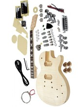 Free shipping  lp electric guitar kit,unfinish guitar,Diy electric guitar