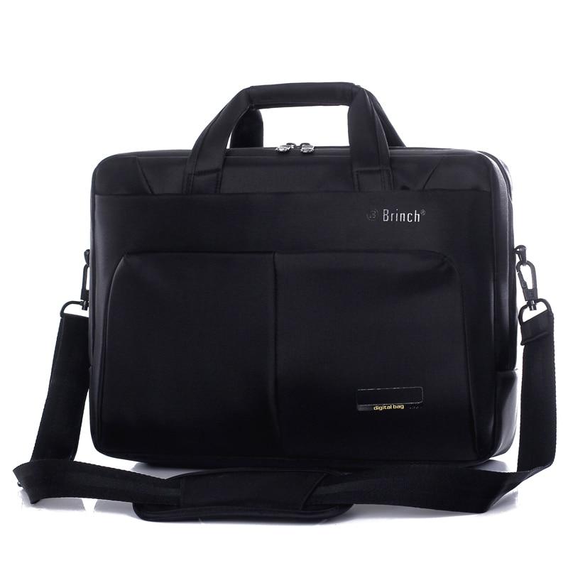 BRINCH computer bag 15.6 inch business large capacity waterproof and shock proof men and women Shoulder Bag Laptop Bag BW-186<br>