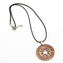 Cardcaptor Sakura Necklace KINOMOTO SAKURA Magic Circle Pendant Girl's Gift Anime Jewelry