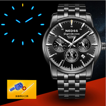 Luxury Swiss H3 Seiko mechanical wristwatches men's watches tritium watch sapphire 100m waterproof fashionable military watch(China)