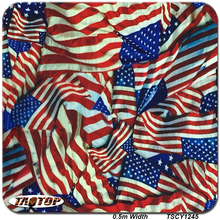 iTAATOP TSCY1245 0.5M*10M American Flag Hydro Dipping Water Transfer Printing Liquid Dipping Films(China)