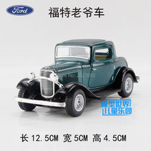 4 Colors Ford 1932 Vintage Car 1:34 Alloy Diecast Model Vehicle Toy Collection For Boy Children As Gift