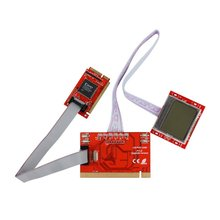 Computer Motherboard Test Diagnosis Card PTi8 LED Detection Card Screen Notebook Desktop Tester For PC Notebooks(China)