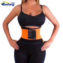 Waist Trimmer Exercise Burn Fat Sweat Weight Loss Body Shaper Wrap Belt for slimming upper back support posture correction belt(China)