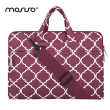 MOSISO Canvas Designer Laptop Shoulder Bag for Macbook Air Pro 11 13 14 15 inch Asus Notebook Messenger Bags Briefcase Handbag