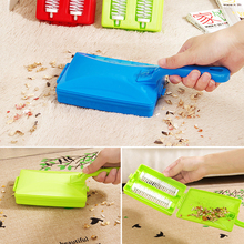 1pc Mini Hand Push Vacuum Cleaning Brush Table Sweeper Cleaner Roller Tool Home Cleaning Brushes Accessaries color random