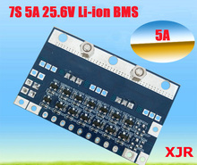 7S 5A  29.4V lipo lithium Polymer BMS/PCM/PCB battery protection circuit board for 7 Packs 18650 Li-ion Battery Cell