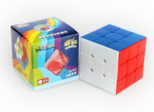 Original 56mm Shengshou Rainbow 3x3x3 Professional Magic Cube Stickerless Colorful with Retail Box Cubo Magico Speed Puzzle Toy