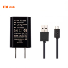 Original XIAOMI USB Charger 5V 2A Power Adapter  + Micro USB Data Cable for Mi 4 4s Redmi 3 3s 4 4A 4X Note 3 4 4X