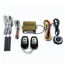 6mA Car Engine control Button Keyless Entry Push Start Stop function Remote start operation Audible alarm Alarm System
