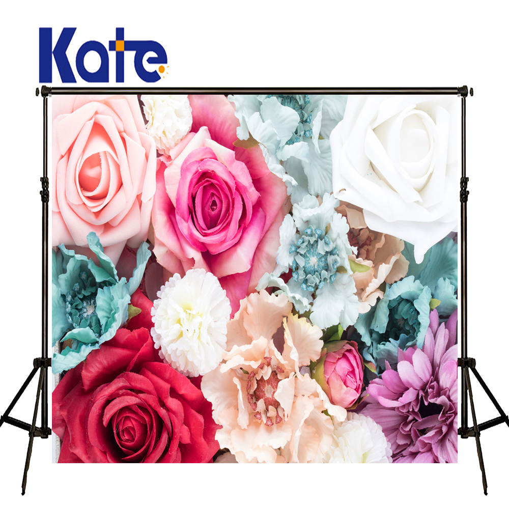Kate 10X10FT Newborn Photography Background Flower Wall Photographic Background for Children Photography Shoot<br>
