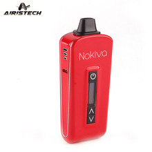 Buy Dry Herb Vaporizer Original Airistech Nokiva Ecig Kit 2200mAh OLED Touch Screen Sub Ohm TC Vape Herbal Pen Electronic Cigarette for $49.00 in AliExpress store