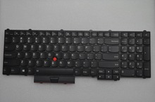 New Laptop keyboard for Lenovo Thinkpad P50 P70 back light US layout(China)