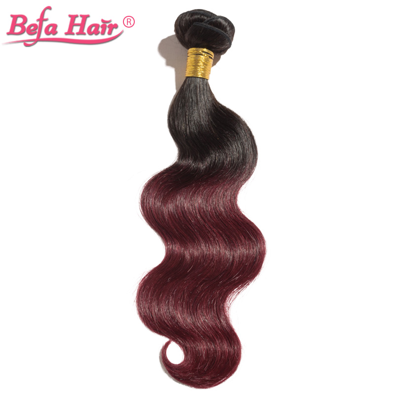 4pcs/lot high quality 16-24inch european human hair extensions body wave ombre 1b-99j# remy hair<br><br>Aliexpress